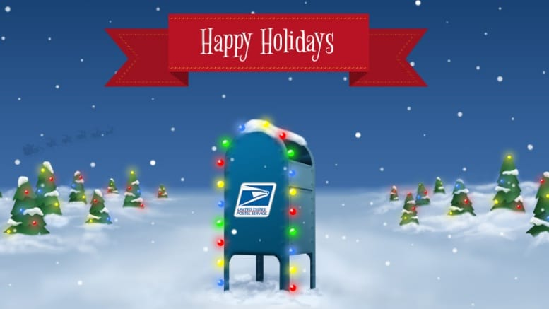 usps holiday season 2017 - Does The Post Office Deliver On Christmas Eve