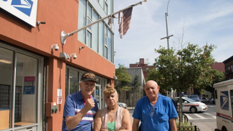 Vets Furious Over Clinton Hill Post Office S Tattered