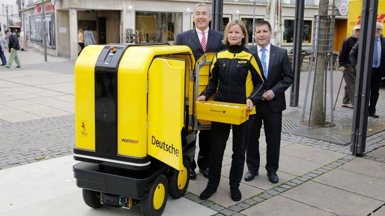 PostBOT delivery robot helps German mail carriers with ...