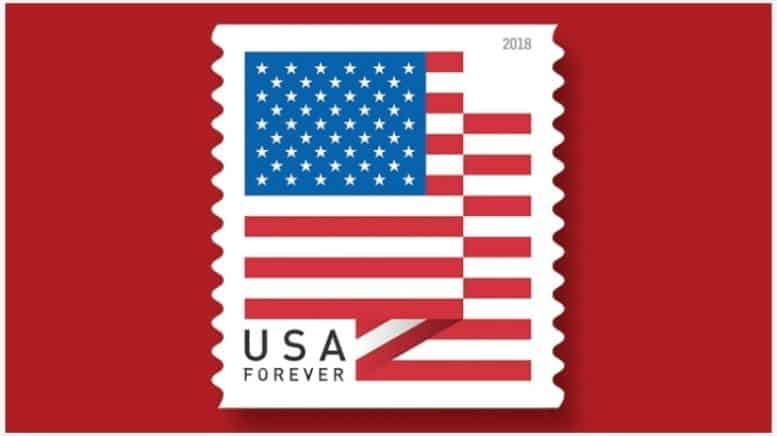 New Us Flag Forever Stamp To Be Issued Feb 9 Flies Digital - United-states-forever-stamps