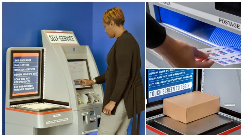 New Usps Retail Kiosks Offer Updated Features Postal Times