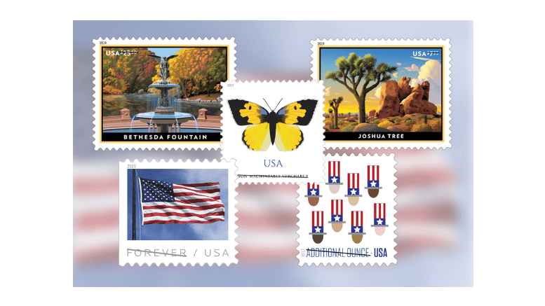 Usps To Release Quintet Of Stamps On Jan 27th 2019