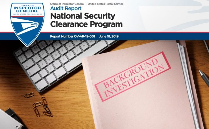 USPS OIG: National Security Clearance Program – Postal Times