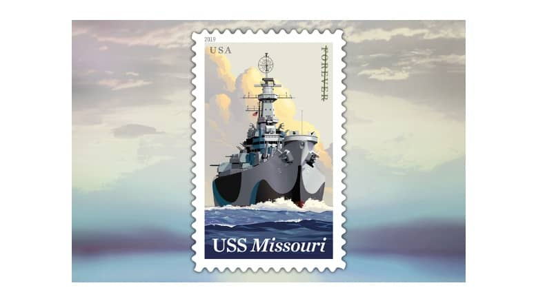 USPS to release the USS Missouri stamp on June 11th, 2019