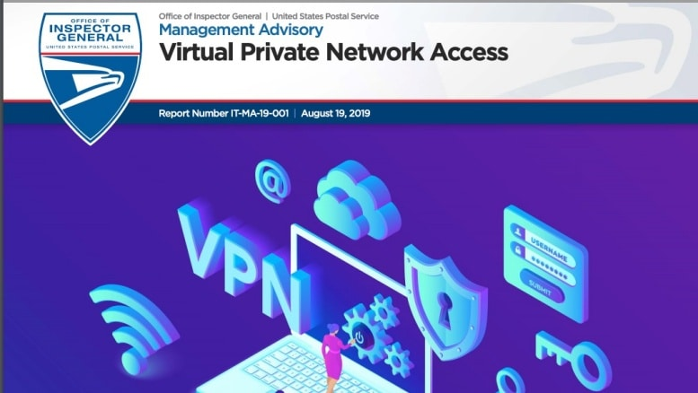 USPS management Advisory – Virtual Private Network Access