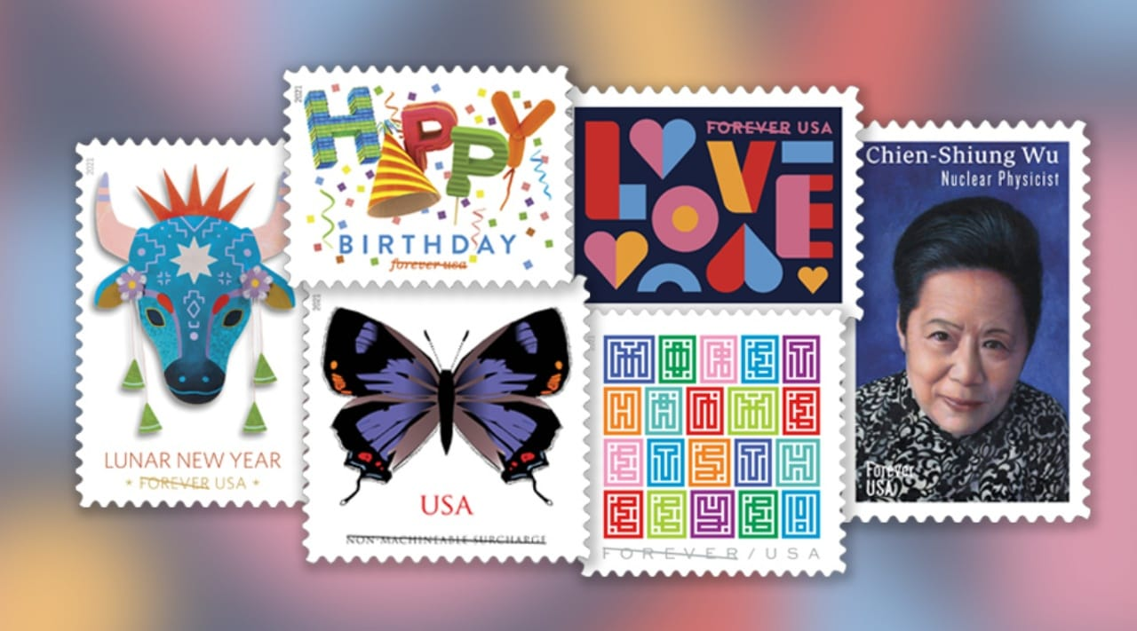 Post Office Christmas Stamps 2021 Hello 2021 Usps Announces Upcoming Stamps Postal Times